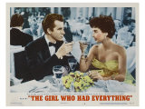 The Girl Who Had Everything, 1953 Poster