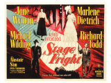 Stage Fright, 1950 Posters
