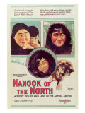 Nanook of the North, 1922 Giclee Print