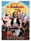 The Wizard of Oz, German Movie Poster, 1939 Print