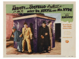 Abbott and Costello Meet Dr. Jekyll and Mr. Hyde, 1953 Premium Giclee Print