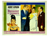Breakfast At Tiffany's, 1961 Digitálně vytištěná reprodukce