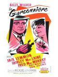 The Apartment, French Movie Poster, 1960 Reprodukce
