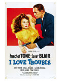 I Love Trouble, 1948 Art