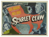 The Scarlet Claw, UK Movie Poster, 1944 Plakater