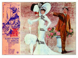 My Fair Lady, Italian Movie Poster, 1964 Reproduction procédé giclée