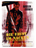 On the Waterfront, German Movie Poster, 1954 Giclee Print