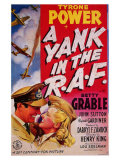 A Yank in the R.A.F., 1953 Posters
