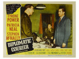 Diplomatic Courier, 1952 Giclee Print