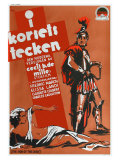 The Sign of the Cross, Swedish Movie Poster, 1932 Posters