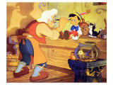 Pinocchio, 1940 Reproduction procédé giclée