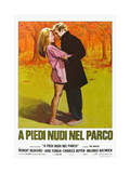 Barefoot in the Park, Italian Movie Poster, 1967 Poster