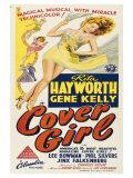 Cover Girl, Australian Movie Poster, 1944 Prints