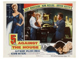 5 Against the House, 1955 Poster