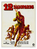 The Dirty Dozen, French Movie Poster, 1967 Prints
