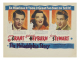 The Philadelphia Story, Australian Movie Poster, 1940 Prints