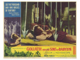 Goliath and the Sins of Babylon, 1964 Posters