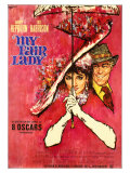 My Fair Lady, German Movie Poster, 1964 Giclee Print