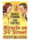 Miracle On 34th Street, 1947 Giclée-tryk