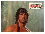 Rambo: First Blood, Part 2, German Movie Poster, 1985 Premium Giclee Print