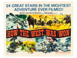 How the West Was Won, 1964 Giclee Print