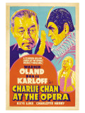 Charlie Chan at the Opera, 1936 Premium Giclée-tryk