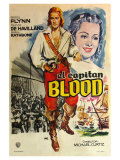 Captain Blood, Spanish Movie Poster, 1935 Prints
