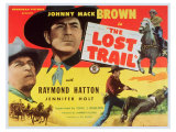 The Lost Trail, 1945 Print