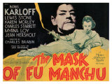 The Mask of Fu Manchu, 1932 Poster