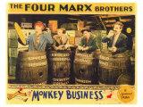 Monkey Business, 1931 Giclee Print