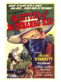 The Return of the Durango Kid, 1945 - Poster