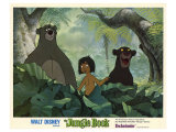 The Jungle Book, 1967 Reproduction procédé giclée