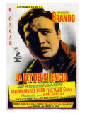 On the Waterfront, Spanish Movie Poster, 1954 Posters