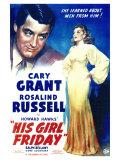 His Girl Friday, 1940 Plakat
