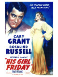 His Girl Friday, 1940 Print