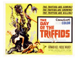 The Day of the Triffids, UK Movie Poster, 1963 Prints