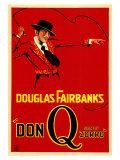 Don Q Son of Zorro, 1925 Prints