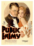 The Public Enemy, 1931 Reproduction procédé giclée
