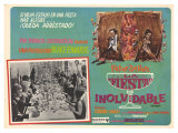The Party, Spanish Movie Poster, 1968 Giclee Print