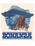 Bonanza Reproduction procédé giclée
