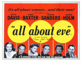 All About Eve, 1950 Giclée-tryk