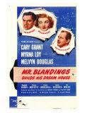 Mr. Blandings Builds His Dream House, 1948 Plakater