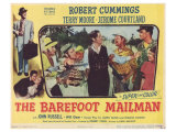 The Barefoot Mailman, 1951 Giclee Print