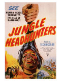 Jungle Headhunters, 1951 Premium Giclee Print
