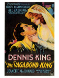 The Vagabond King, 1930 Print