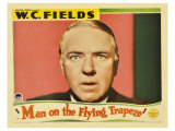 Man on the Flying Trapeze, 1935 Poster