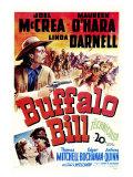 Buffalo Bill, 1944 - Poster