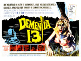 Dementia 13, 1963 Poster