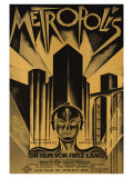 Metropolis, German Movie Poster, 1926 Print
