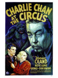 Charlie Chan At The Circus, 1936 Plakater